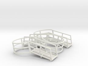 Harvestore Safety Ring (Set of 3) in White Natural Versatile Plastic