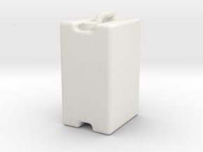 Jerrycan 25L 1/32 in White Natural Versatile Plastic