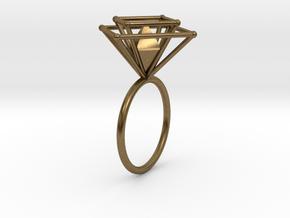 Crazy diamond size 56 in Natural Bronze