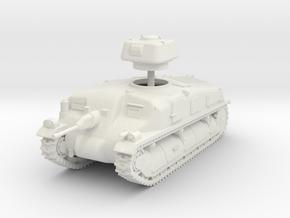 1/72 SAu-40 Mle 37 SPG in White Natural Versatile Plastic