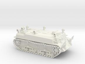 Japanese Soko SS-Ki Pioneer Tank WWII - 1/72 - 20m in White Natural Versatile Plastic