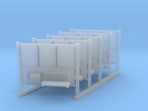 DSB Reklameskilt 5 1:160 in Smooth Fine Detail Plastic
