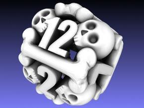 Ossuary d12 in White Strong & Flexible