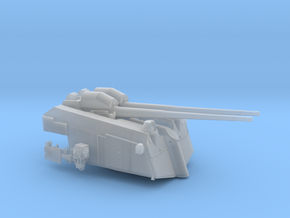 1/48 DKM Flak 10.5 cm SK C/31 in Smooth Fine Detail Plastic