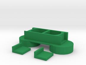 EVERSORT 2x250ml ENCLOSURE 11-17 in Green Processed Versatile Plastic