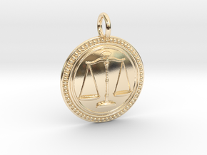 NewJustice in 14K Yellow Gold