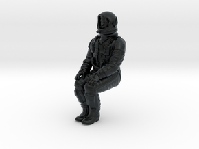 Gemini Astronaut 1:24 (Revell Version) in Black Hi-Def Acrylate
