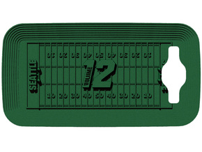 Galaxy S3 12th Man in Blue Processed Versatile Plastic