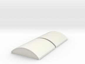 Arch Caps in White Natural Versatile Plastic