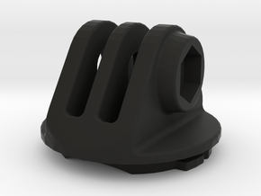 GoPro Compatible Garmin Mount in Black Natural Versatile Plastic