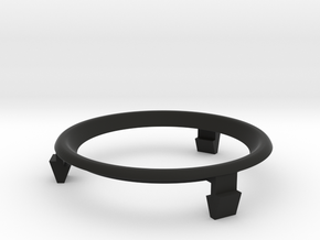 MR2 Trim Ring (right) in Black Natural Versatile Plastic