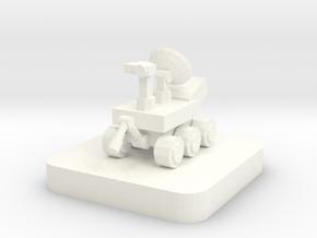 Mini Space Program, Rover Probe in White Processed Versatile Plastic