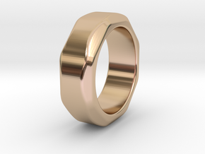 Ring in 14k Rose Gold Plated