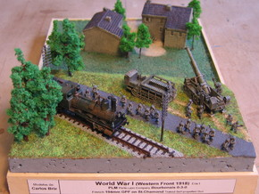 French 194mm GPF on St. Chamond 1/144 in Smooth Fine Detail Plastic