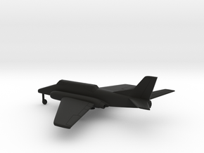 Ilyushin Il-102 in Black Natural Versatile Plastic: 1:200