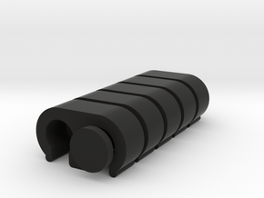 5x Wireclip 12AWG (for 2) in Black Natural Versatile Plastic
