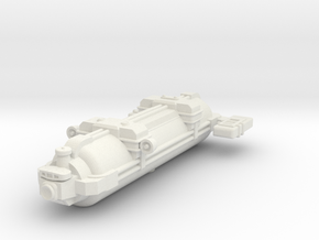 Omni Scale WYN Auxiliary Scout SRZ in White Natural Versatile Plastic