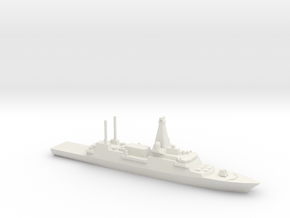 Type 26 frigate (2017 Proposal), 1/2400 in White Natural Versatile Plastic