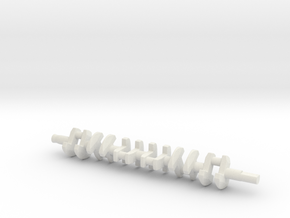 ScaledEngines_2JZ-crankshaft in White Strong & Flexible
