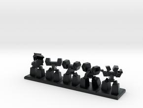 TA ARM Jethro Squad - 1cm tall in Black Hi-Def Acrylate