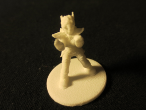1:72 Helja, Dwarven Dracomancer,  in White Natural Versatile Plastic