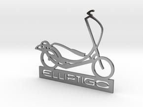 ElliptiGO ornament in Polished Silver