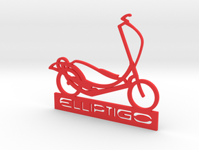 ElliptiGO ornament in Red Processed Versatile Plastic