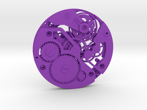 Watch movement ETA in Purple Strong & Flexible Polished