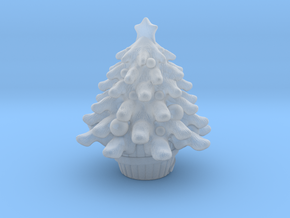 Xmas Tree in Smooth Fine Detail Plastic