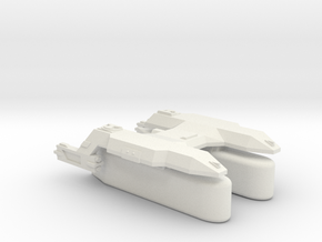 3788 Scale Lyran Puma Transport Tug (K-Pods) CVN in White Natural Versatile Plastic