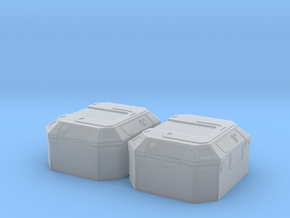 1:78 SW Lg Equipment Box in Smooth Fine Detail Plastic