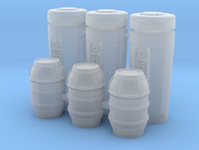 1:78 SW Cargo Cylinders in Frosted Ultra Detail