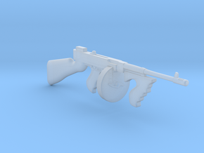 Thompson M1928 Drum mag (1/18 Scale) in Smooth Fine Detail Plastic: 1:18