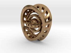 RingX in Natural Brass: Small