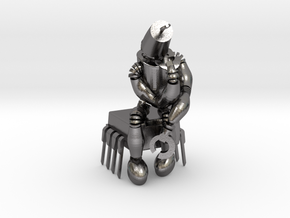 """boOpGame Shop - Auguste Rodin """" The Thinker """" in Polished Nickel Steel"""