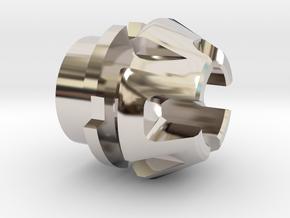 Custom CC Crystal Energy Port V1 in Rhodium Plated Brass