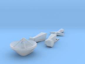 14-Rendezvous Antenna in Smooth Fine Detail Plastic