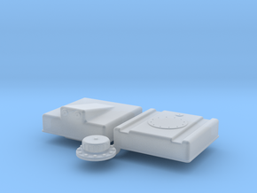 1/32 Fuel Cell RJS-5g-13-13-8-Sump in Smooth Fine Detail Plastic