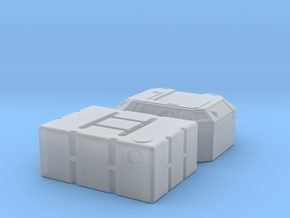 1:48 SW Lg Containers in Smooth Fine Detail Plastic