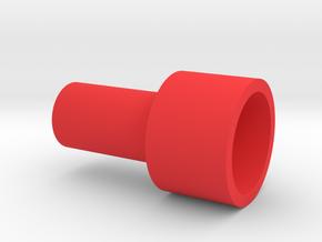 SPC inner threaded screw in Red Processed Versatile Plastic