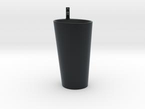 Miniature Laufen Palomba Freewashbasin - Laufen in Black Hi-Def Acrylate: 1:24