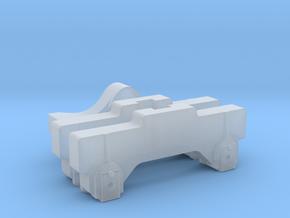 RAR bogie 09 in Smooth Fine Detail Plastic: 1:43.5