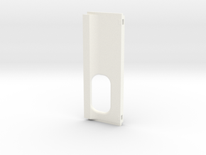 Back door squonk no logo Saul V2.1 in White Processed Versatile Plastic