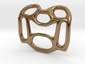 Pendant Design A in Natural Brass