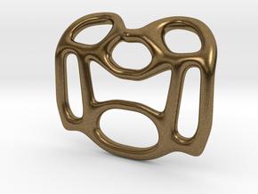 Pendant Design A in Natural Bronze
