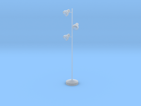 'Office Days' Triple Floor Lamp 1:12 Dollhouse in Smooth Fine Detail Plastic