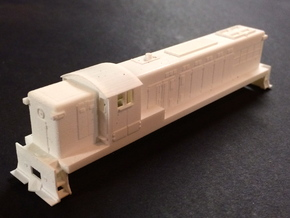 N Scale Baldwin  AS16 in Smooth Fine Detail Plastic