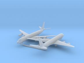 1/700 DC-8-50 w/Gear x2 (FUD) in Smooth Fine Detail Plastic