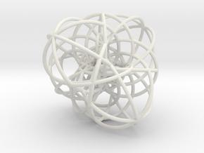 Elliptic Clebsch Cubic in White Natural Versatile Plastic