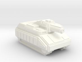 Pugilist Infantry Support Tank in White Processed Versatile Plastic